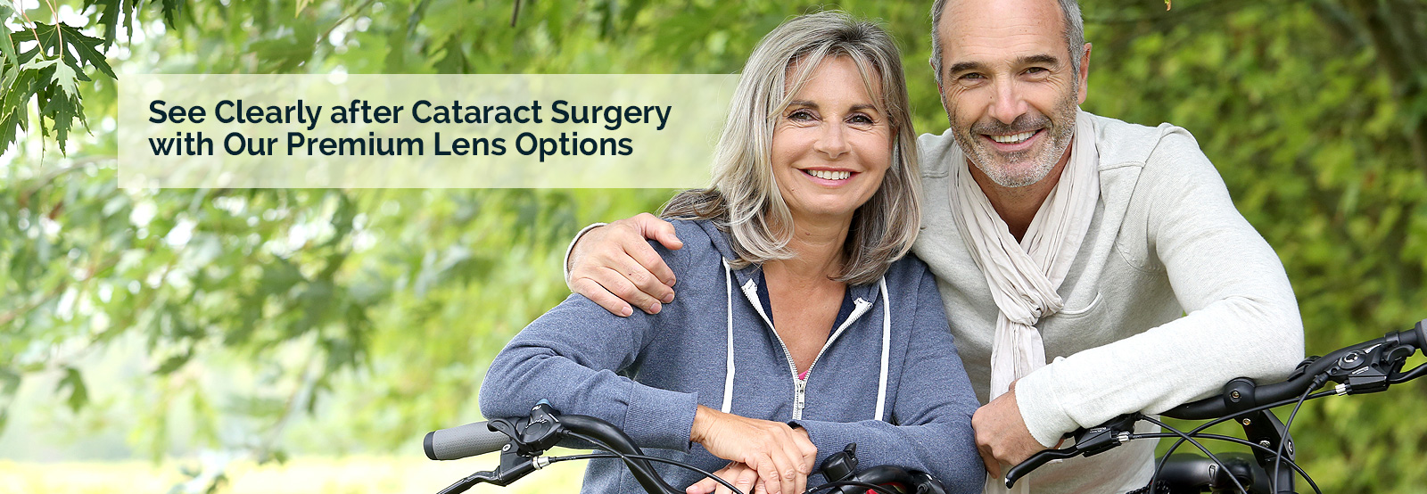 See Clearly After Cataract Surgery with Premium Lens Options
